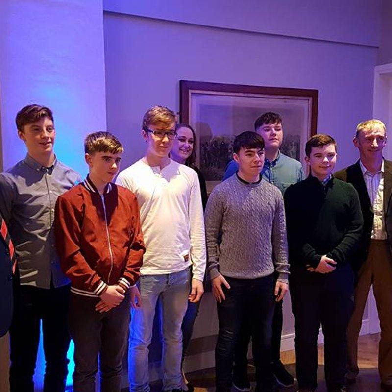 Cill Dara Youths Win Kildare Division Garda Youth Group Award 2017