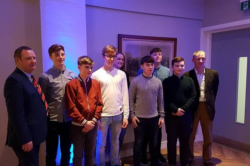 Cill Dara Youths Win Kildare Division Garda Youth Group Award 2017