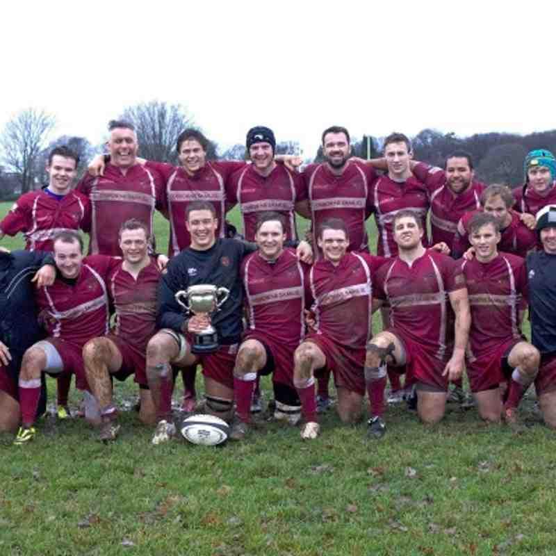 Bucks Cup Winners 2013