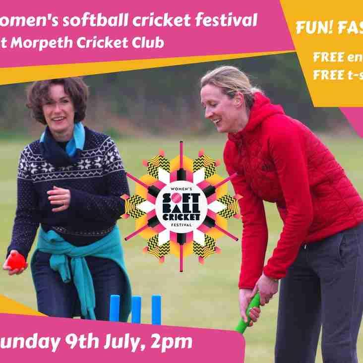 Women & Girls Softball Festivals at Longhirst 2pm