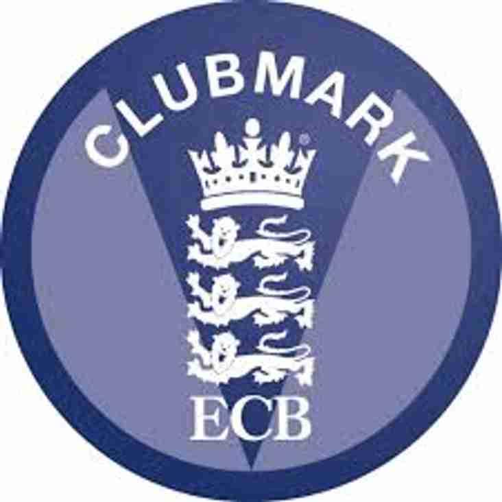 ECB Clubmark Achieved