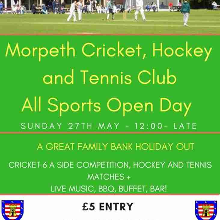 MCHTC All Sports Open Day