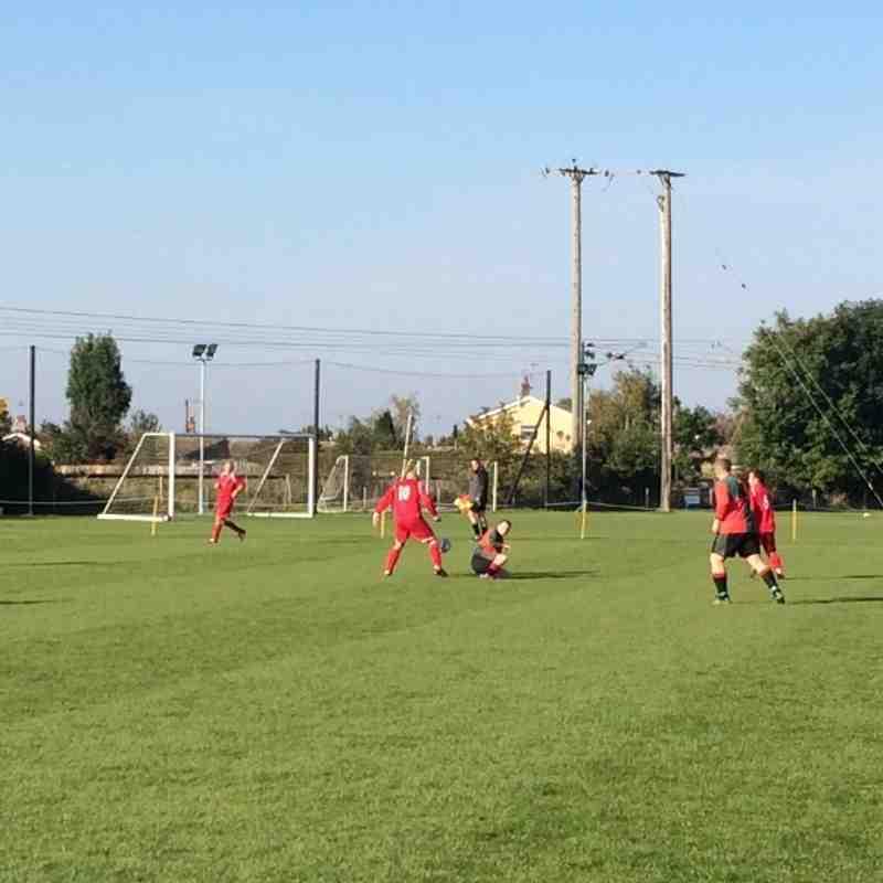 Bacton United 89 Vets v Haverhill Rovers Vets 111015