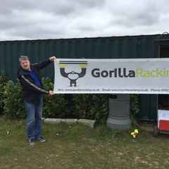 Welome our newest sponsor - Gorilla Racking