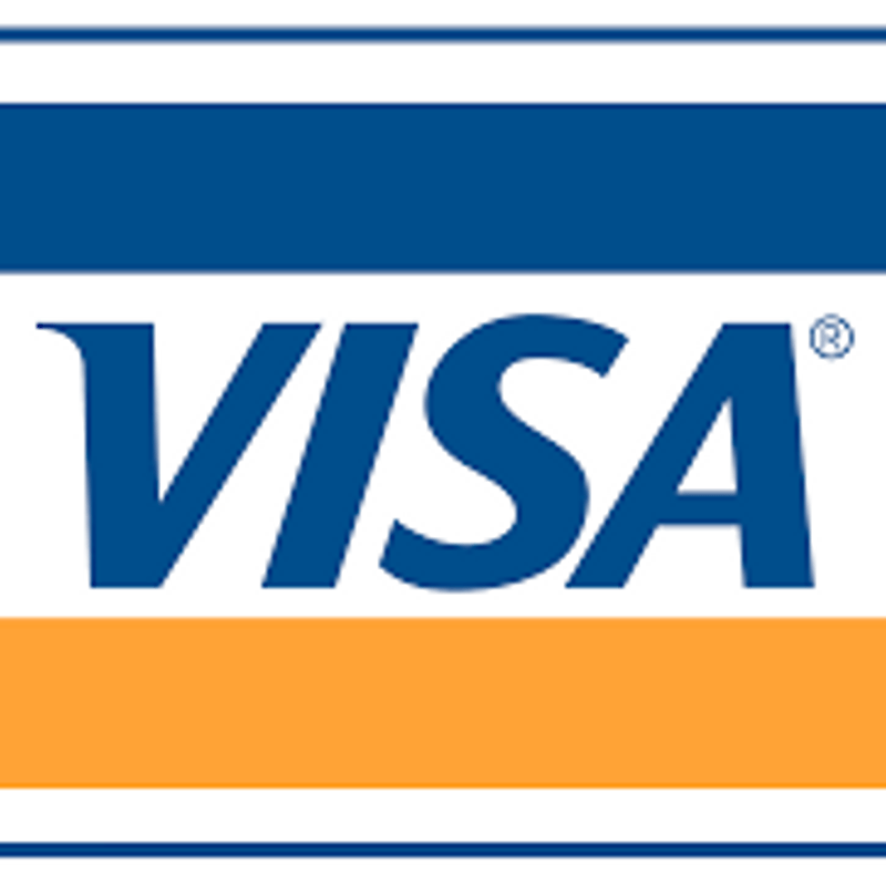 VISA Card payments now taken