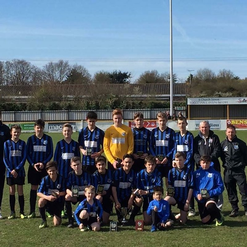 Double cup success for Hatfield teams