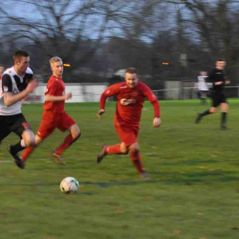 Saturday 16th January 2016, Sydenhams Wessex League 1, Romsey Town v Downton, Final score - Romsey Town 1, Downton 0.