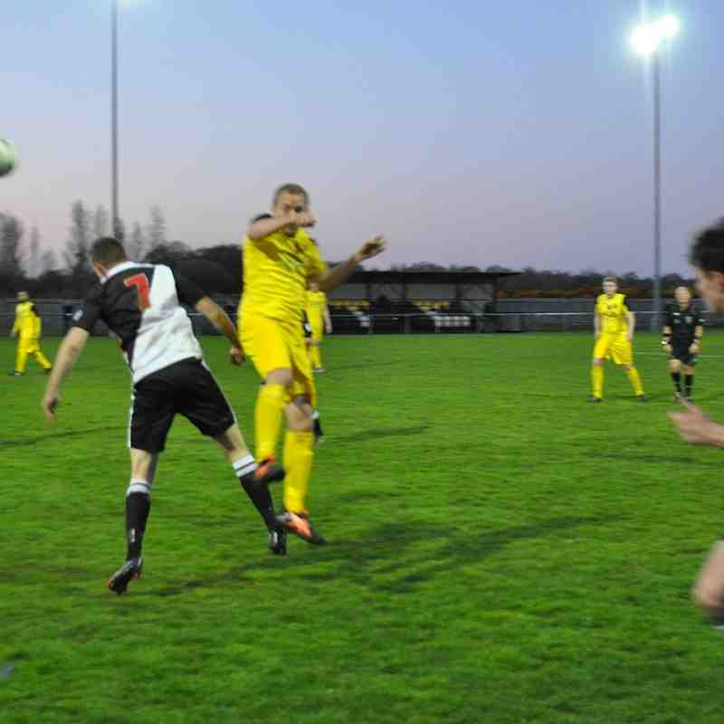 Tuesday 19th April 2016, Romsey Town v Tadley Calleva. (Away) Final score - Romsey Town 1, Tadley Calleva 3