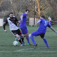 Sydenhams Wessex League Division 1. Romsey Town v AFC Stoneham. Final score - Romsey Town 1, AFC Stoneham 1.