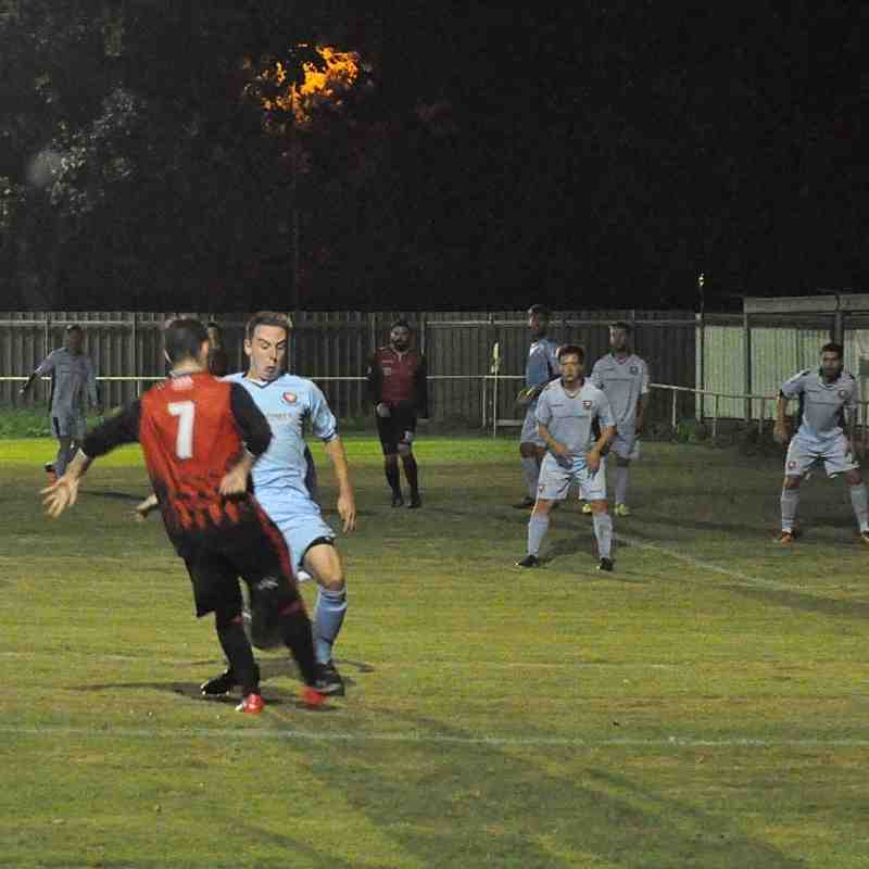 Tuesday 23rd August 2016, HSC, Romsey Town v AFC Portchester. Final score- Romsey Town 2, AFC Portchester 4.