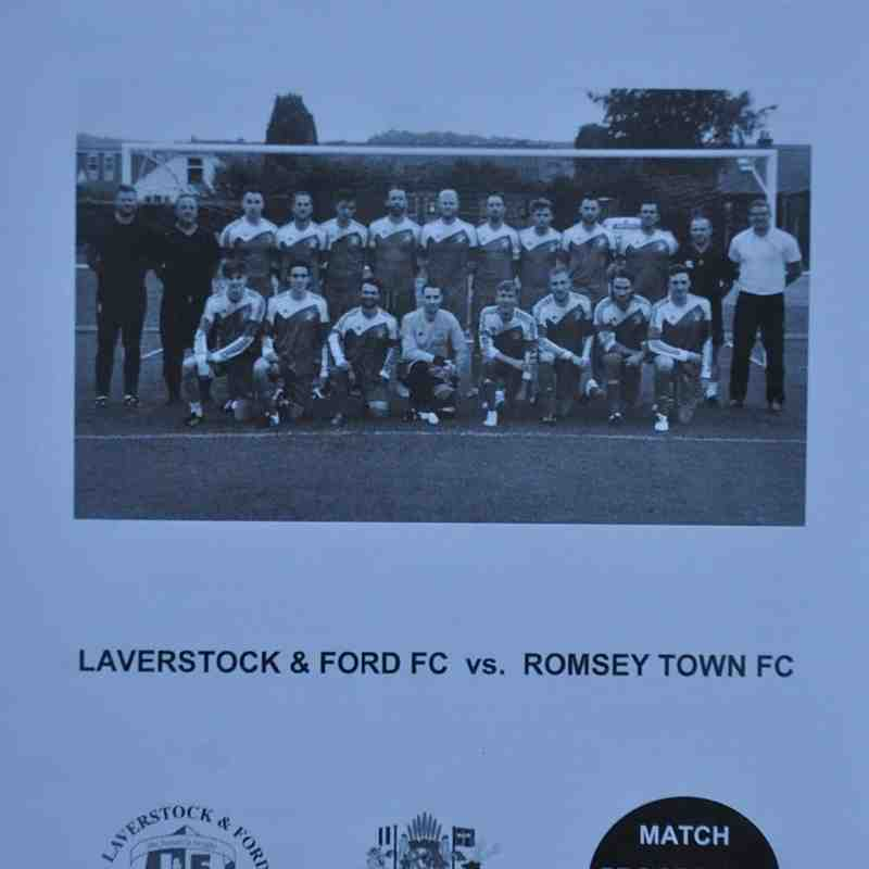 Tuesday 13th September 2016, Sydenhams League Cup, Laverstock & Ford (A) Final score - Laverstock & Ford 2, Romsey Town 1.