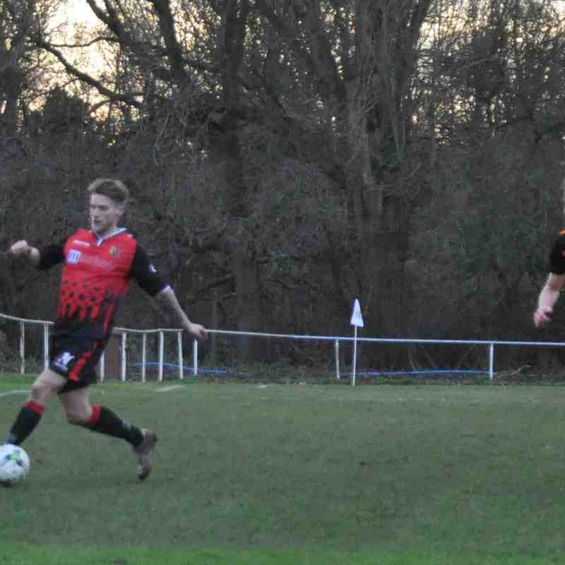 Saturday 14th January 2017, Ringwood Town (H). Final score - Romsey town 2, Ringwood Town 3