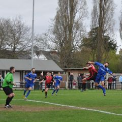 Saturday 18th March 2017, Sydenhams Wessex League 1, Christchurch, (H) Final score - Romsey Town 2, Christchurch 2