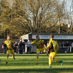 Saturday 25th March 2017, Sydenhams Wessex League 1. Andover New Street (H). Final score 1-1
