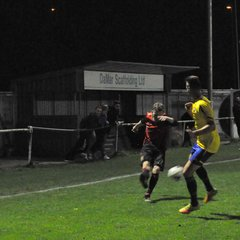 Thursday 30th March 2017. Romsey Town Dev Squad v Lymington Town Res. Final score - Romsey Town Dev Squad 4, Lymington Town Res  2