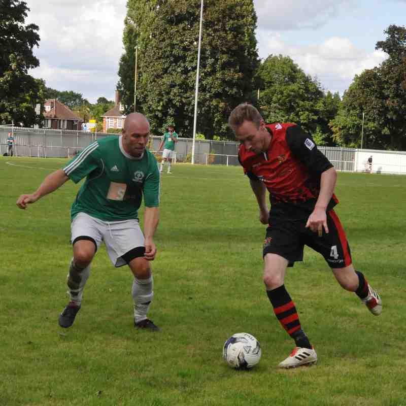 Saturday 5th August 2017, Sydenhams Wessex League 1, Hythe & Dibden (H). Drew 1-1