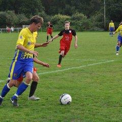 Saturday 26th August 2017, Sydenhams Wessex League 1. Verwood Town (A) Won 2-0
