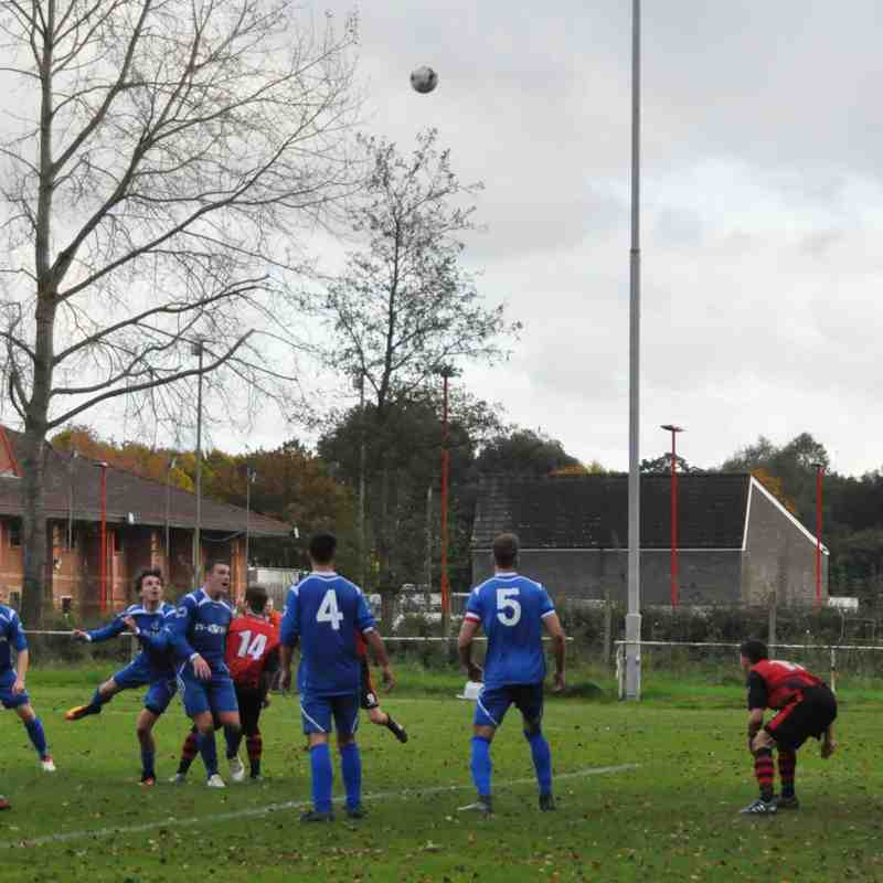 Saturday 14th October 2017, Sydenham Wessex League 1, Christchurch (H), FS- Romsey Town 2, Christchurch 4.