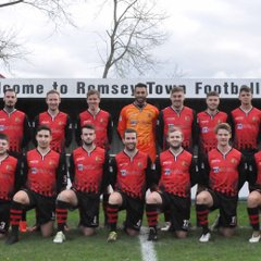 Romsey Town First Team and Players November 2017