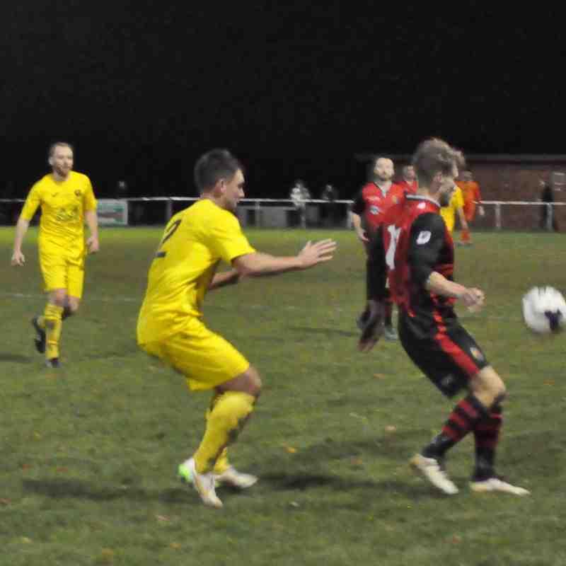 Saturday 25th November 2017, Sydenhams Wessex League 1, Tadley Calleva  (A). Won 2-1
