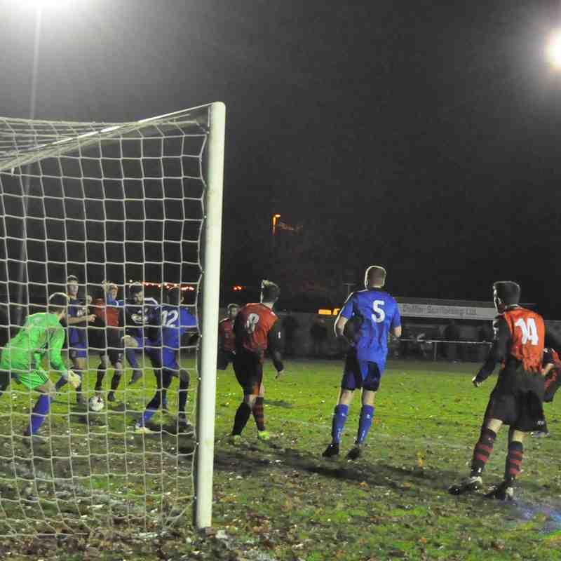 Saturday 16th December 2017, Romsey Town v Verwood Town. Final score - Romsey Town 5, Verwood Town 0.