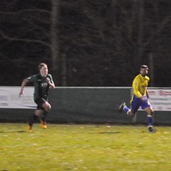 Saturday 23rd December 2017, Sydenham Wessex League 1. Andover New Street (A) Lost 3-2
