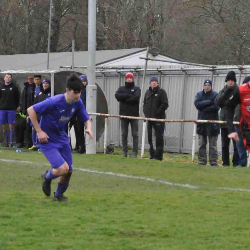 Saturday 17th March 2018. Sydenhams Wessex League 1. AFC Stoneham (H). Drew 0-0