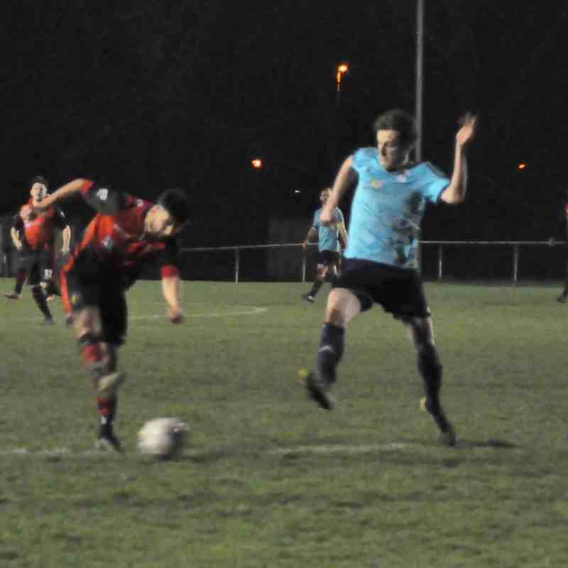 Tuesday 20th March 2018. Sydenham Wessex League 1. US Portsmouth (H), Won 1-0