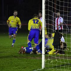 Saturday 17th November 2018, Sydenham Wessex League 1. East Cowes Vics (A) Won 3-2