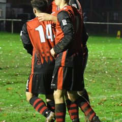 Saturday 8th December 2018, Sydenhams Wessex League 1. Andover Town (H) Won 7-0
