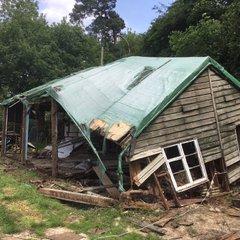 Pavilion Demolition