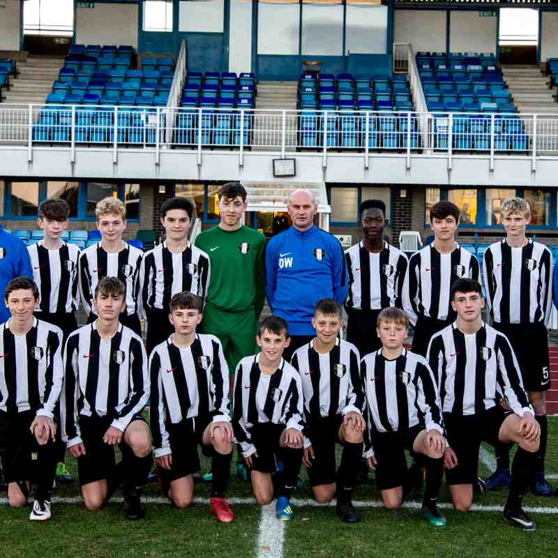Academy - Under 15's Team Photo
