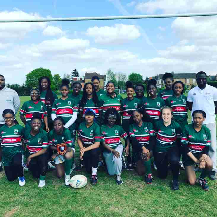 13 Haringey Girls make Middlesex County teams