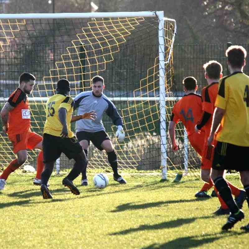 Westfield v Hartley Wintney 15th March
