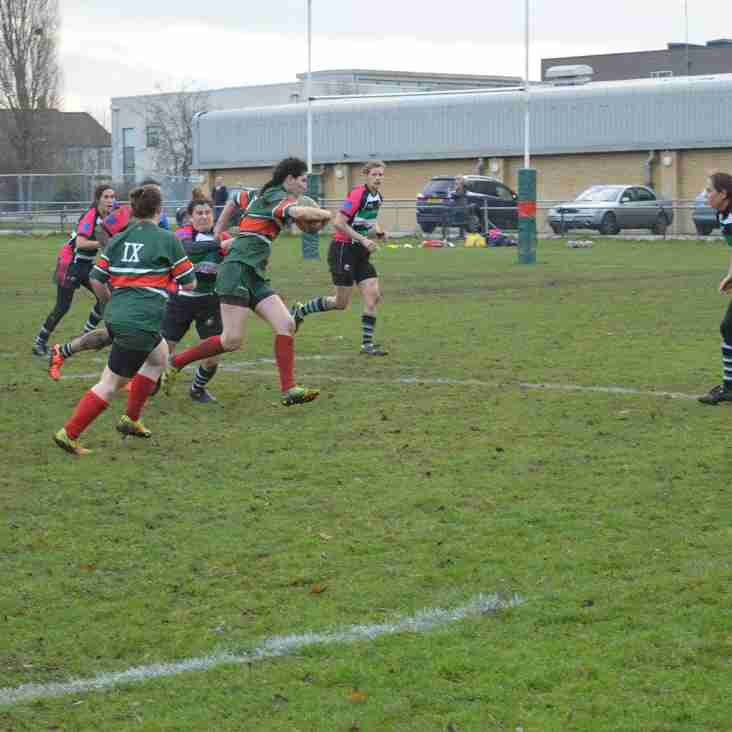 Haringey Rhino Ladies vs High Wycombe, 8th January 2017