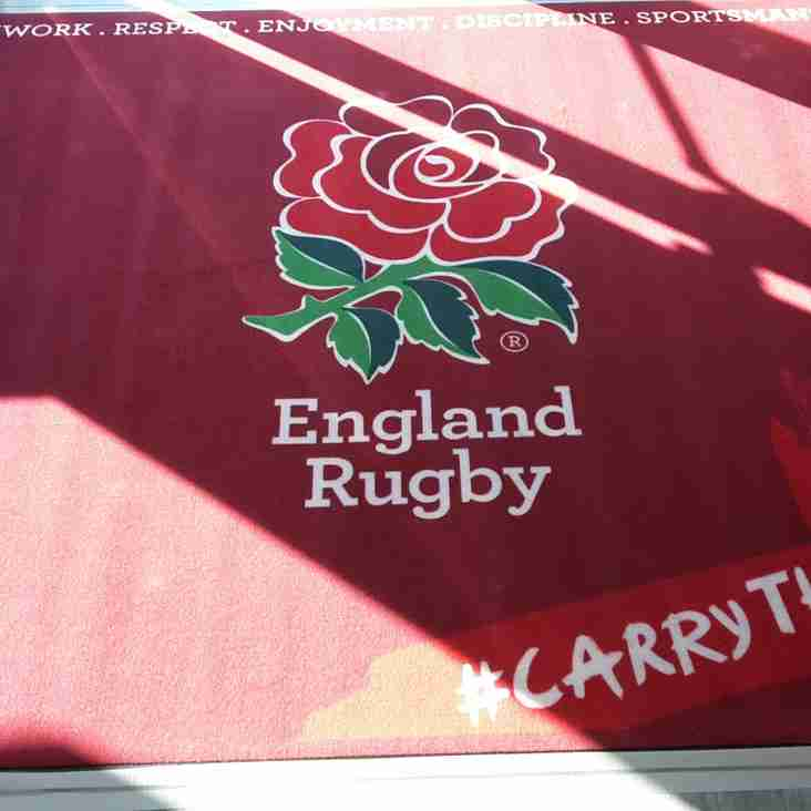 Rugby World Cup Games on at March Bears RUFC Clubhouse