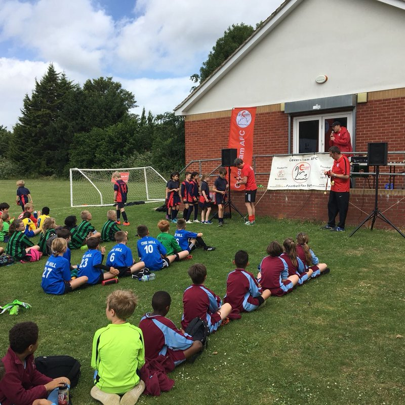 2018 Caversham AFC Primary Schools Tournament