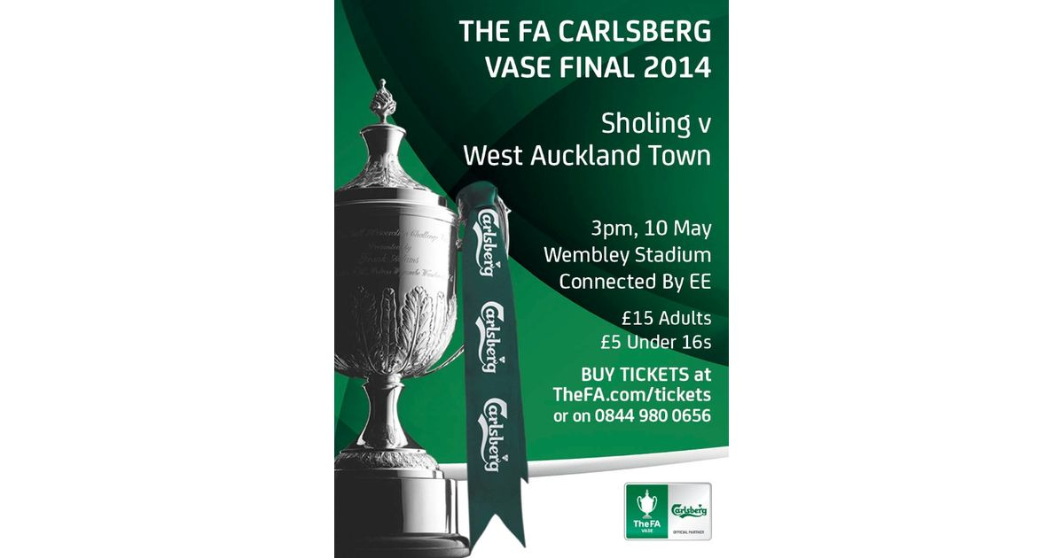 Tickets On Sale For The Fa Vase Final News Binfield Fc