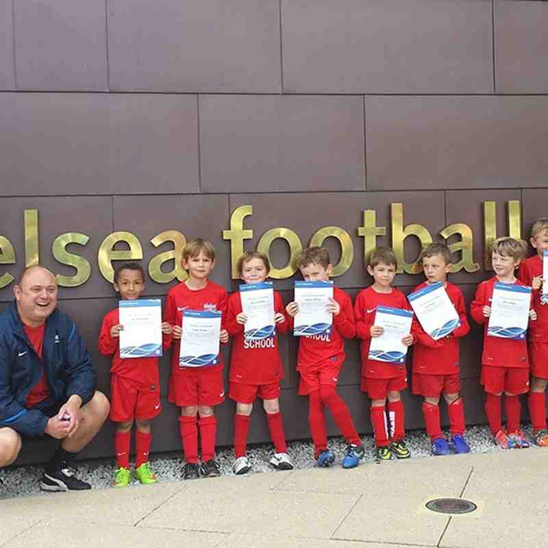 Soccer School at Chelsea Football Club Academy U6 Regional Festival - 23rd May 2015