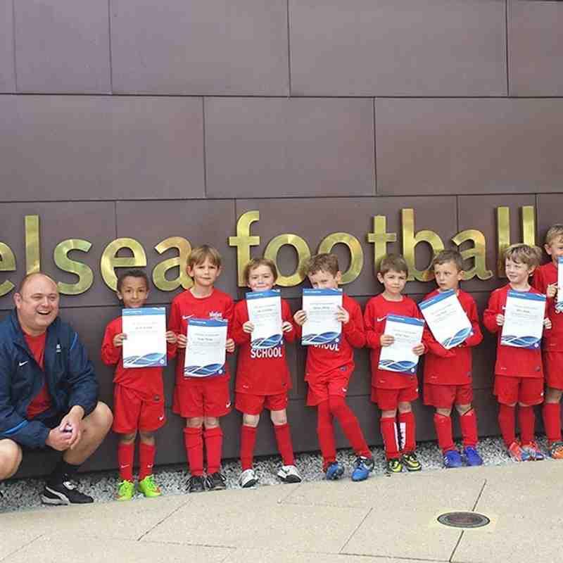 Soccer School at Chelsea Football Club Academy U6 Regional Festival - 23rd May 2015