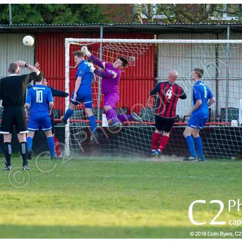 BINFIELD RES 2-0 CHALVEY SPORTS - Ascot & District Fielden Cup Final - 4th May 2016