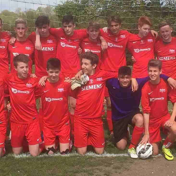 U16 Blades are Champions....