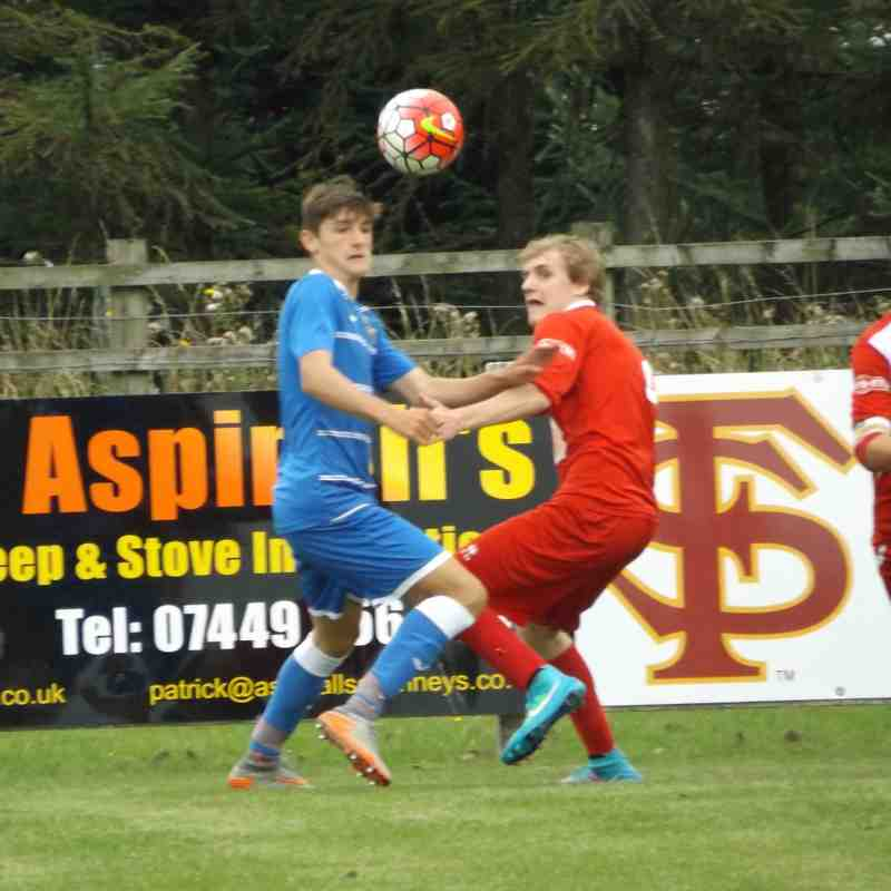 Ashton Athletic U18's v Prescot Cables - League