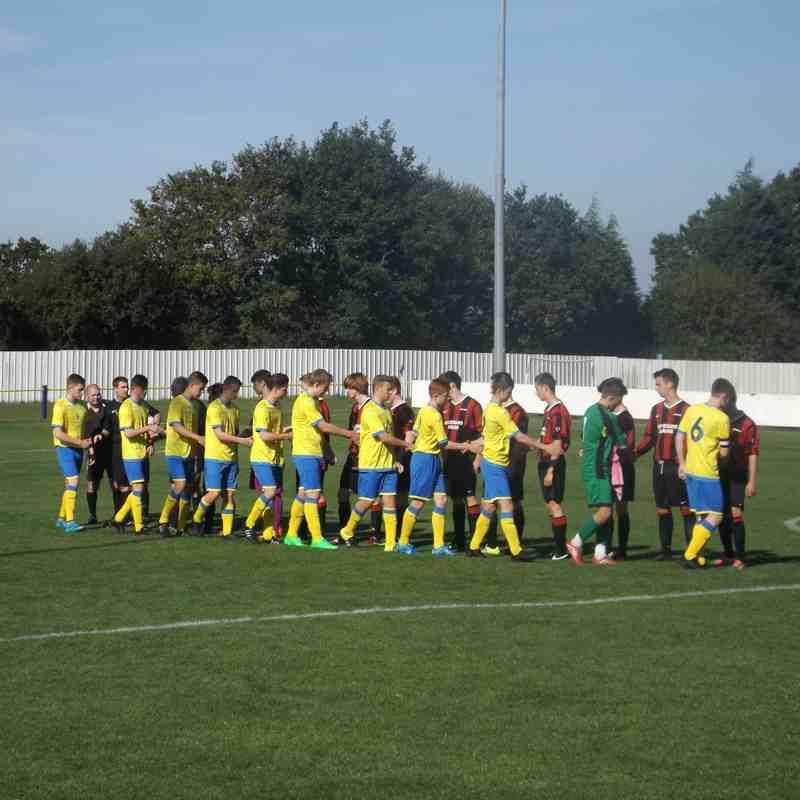 Lancs Cup U18's - Ashton Athletic 1 Barrow 0