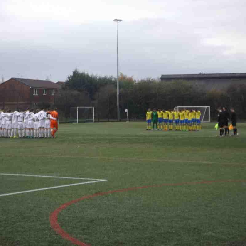 Ashton Athletic U18's v Fylde - Lancs Cup 8/11/2015