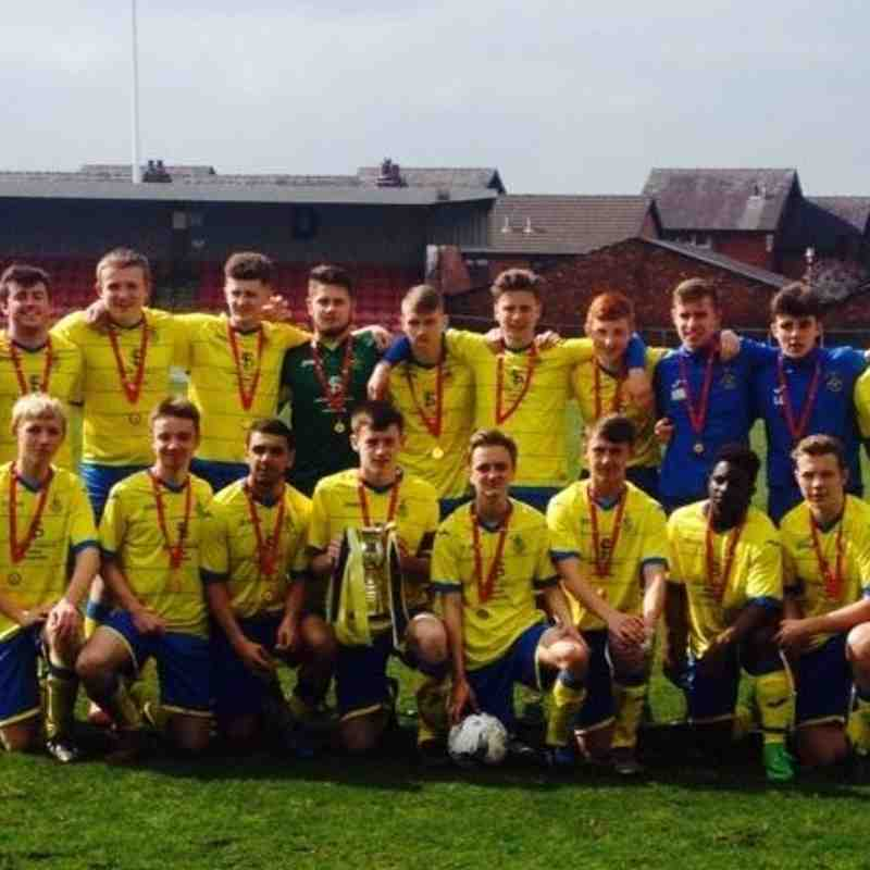Lancs Cup Final - Ashton Athletic 1 Elton Vale 0 - 03/04/2016