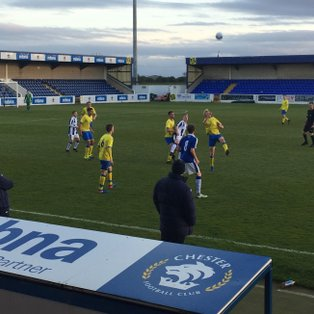 18's deserve at least a point at Chester