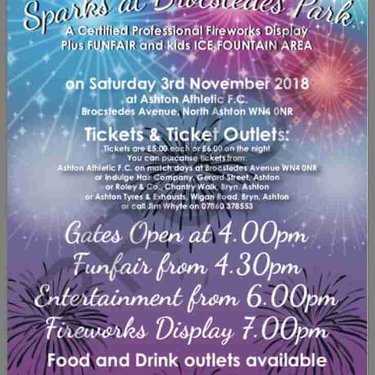 The Fireworks Spectacular Tickets available from Monday 22nd Oct