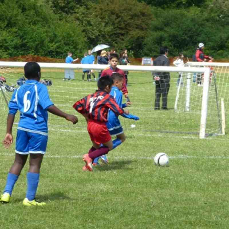 Under 11b at Hillingdon FC soccer festival 2013