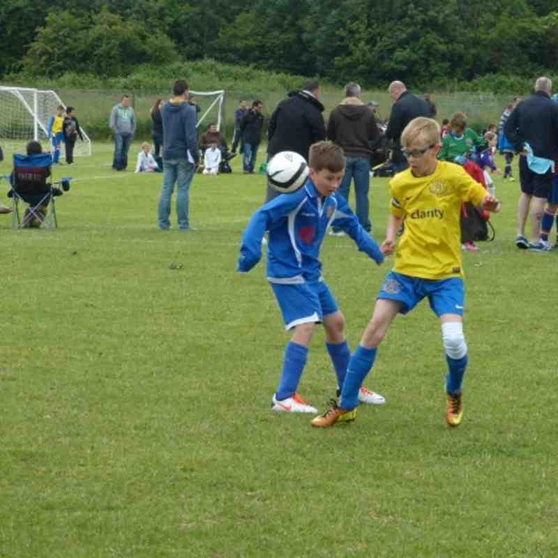 Under 11B Sandgate FC Tournament 16/06/2013